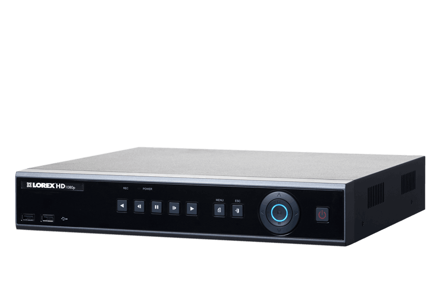 8 channel HD DVR with 1080p high definition security cameras | Lorex