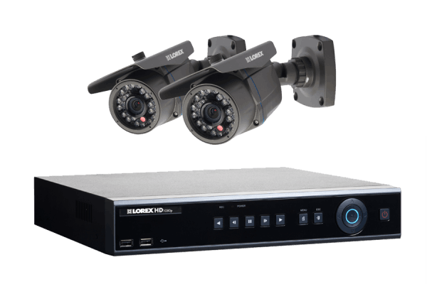 High Definition surveillance camera system