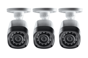 High Definition security camera system with 12 cameras