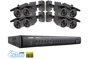 ECO HD 8 Channel Series Security DVR with 1080p HD Cameras