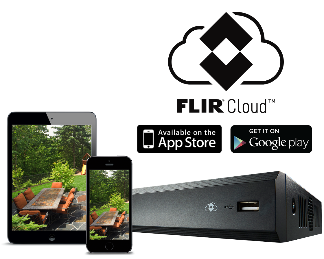 Remote viewing with FLIR Cloud?