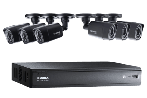 720p High Definition DVR with HD Security Cameras & FLIR Cloud Connectivity