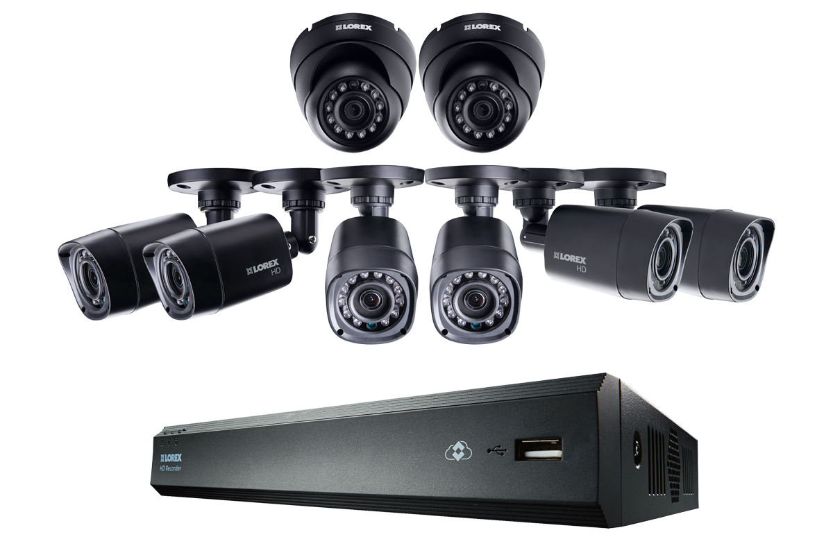 16 Channel Series Security DVR system with 720p HD Cameras