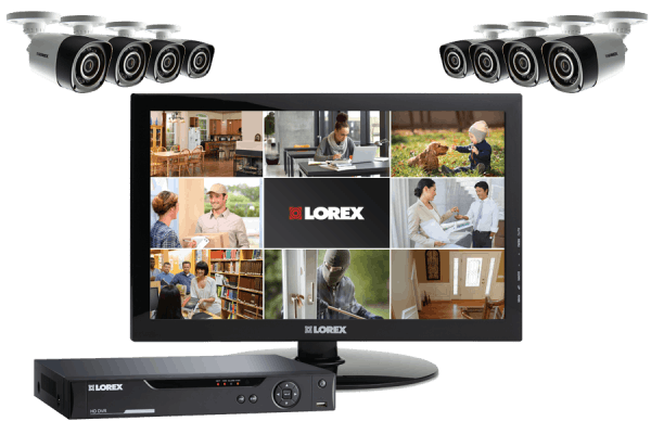 720p HD camera system with monitor