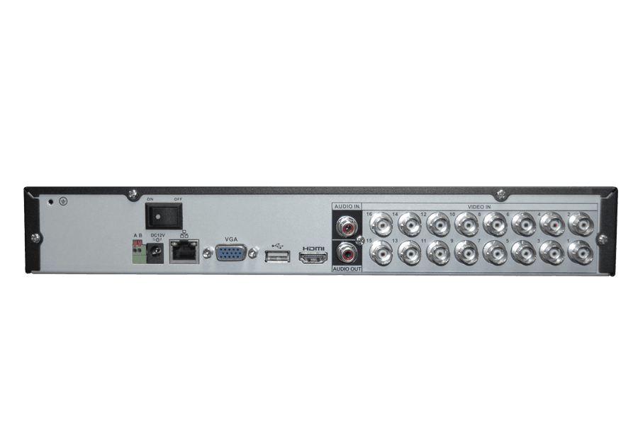16 channel High Definition Digital Video Recorder