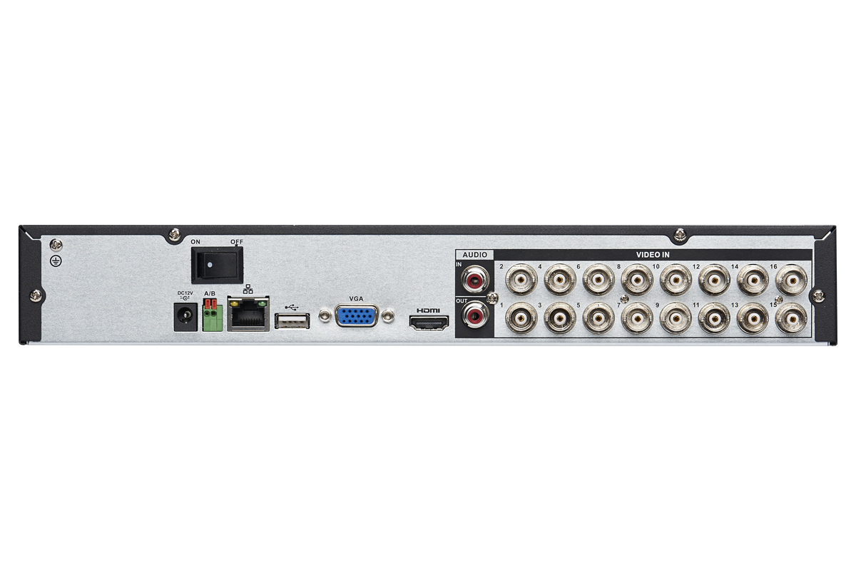 HD DVR Security System with 1080p Ultra-Wide Viewing Cameras & FLIR Secure Connectivity