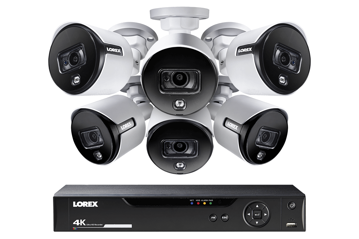 4K HD security cameras, 1080p wireless cameras and 4K IP NVR