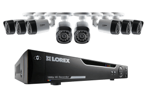 8 Channel Series Security DVR system with 1080p HD Cameras