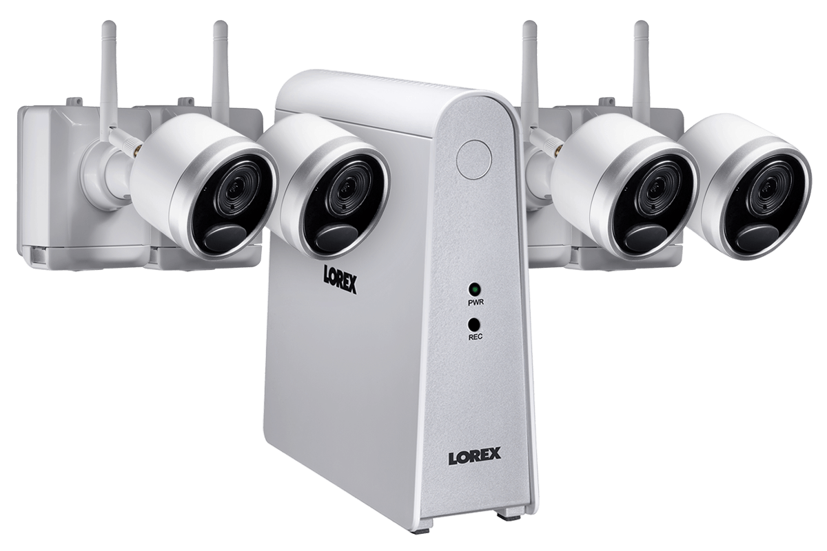 Lorex 1080p Wireless Camera System with 6-Channel DVR