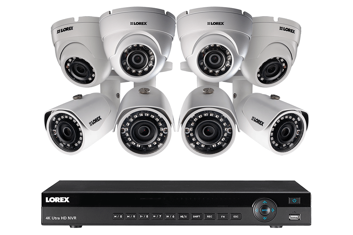 a5a80a37612 2K IP Security Camera System with 16 Channel NVR and 8 HD IP Outdoor 4MP  Cameras