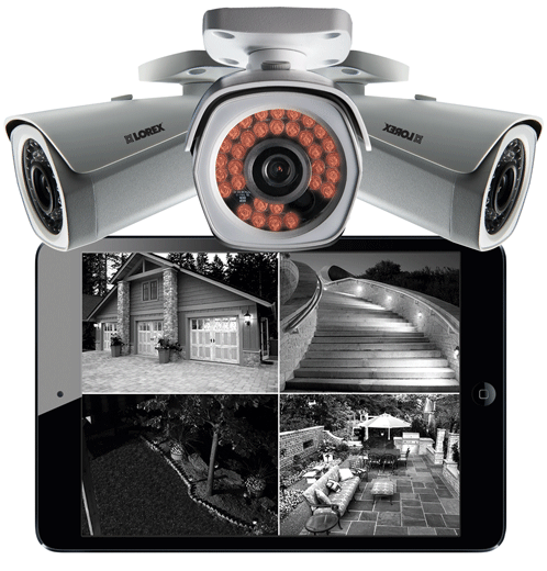 High definition night vision bullet IP cameras