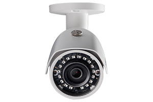 3MP High Definition Bullet Security Camera with Long-Range Night Vision