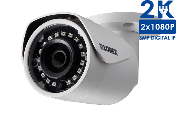 LNB3163 - 3MP High Definition Bullet Security Camera with Long-Range Night Vision