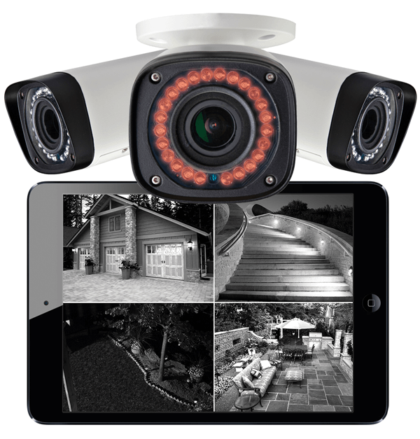 HD night vision bullet IP cameras with the best night vision range
