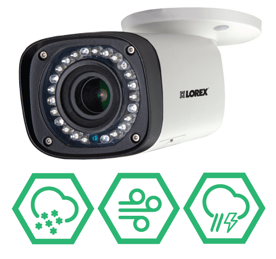 LNB3373 weatherproof outdoor IP camera that stands up to the elements