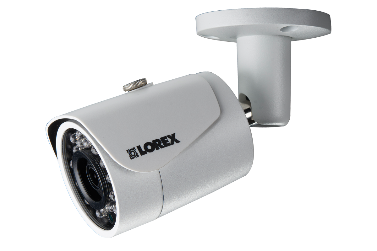4MP High Definition Bullet Security Camera with Color Night Vision and True HDR