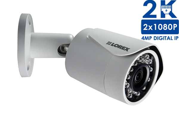 LNB4163 4MP High Definition Bullet Security Camera with Color Night Vision