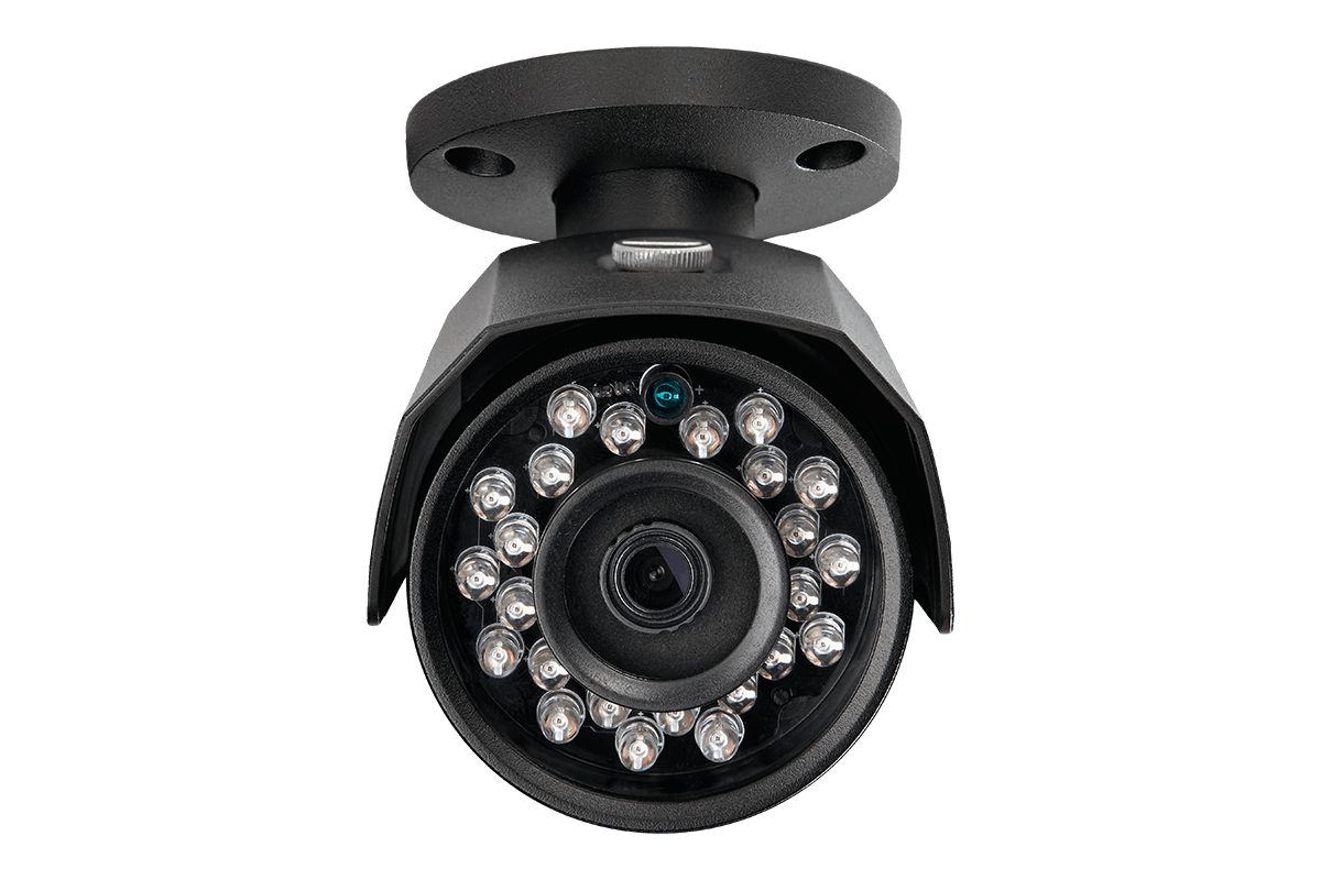 4mp HD IP cameras with color night vision (4-pack)