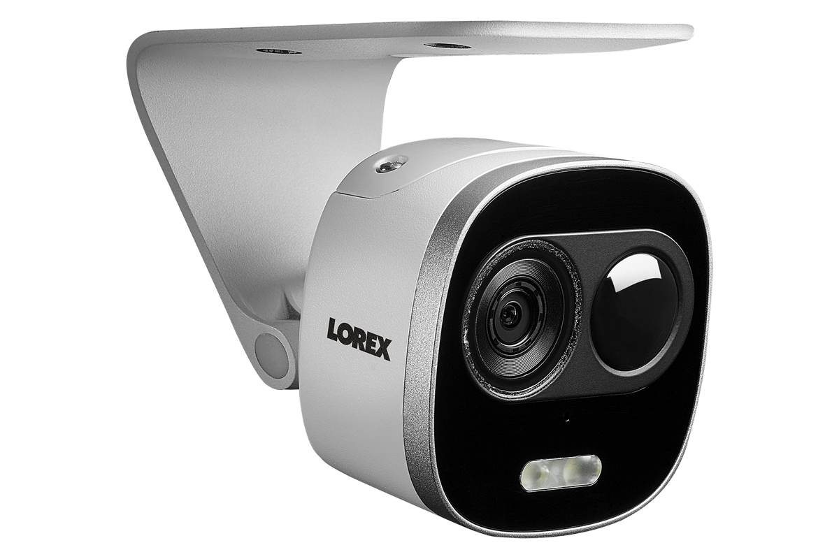 Lorex 16-Channel 4K UHD NVR Smart Surveillance System with 4TB HDD and 9 4K Deterrence Light Cameras