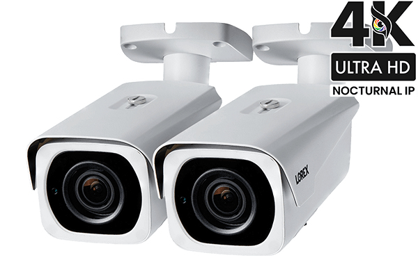 4K Ultra HD IP 8 Channel NVR System with 6 Outdoor 4K 8MP IP Cameras