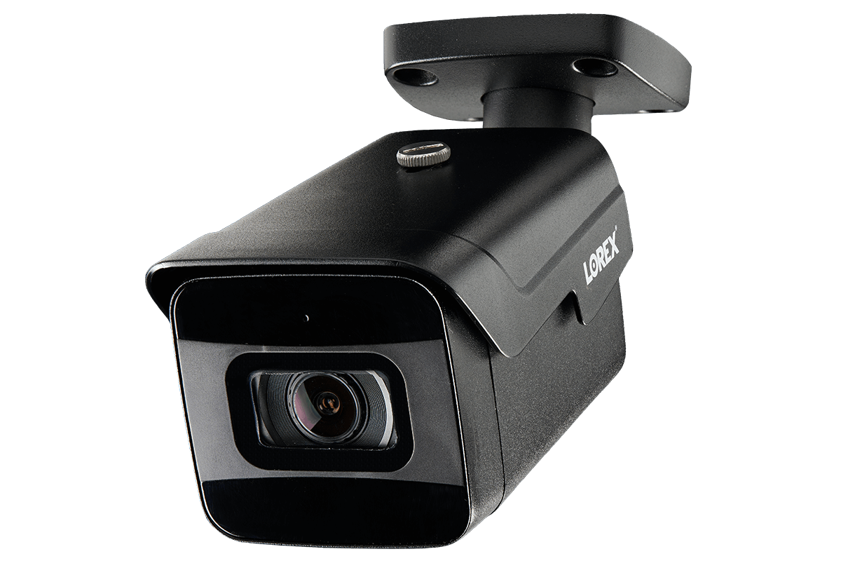 16-Channel 4K NVR and 8 Outdoor 4K (8MP) IP Fixed 30FPS Real-Time Format  Nocturnal Cameras with Color Night Vision and Audio Recording