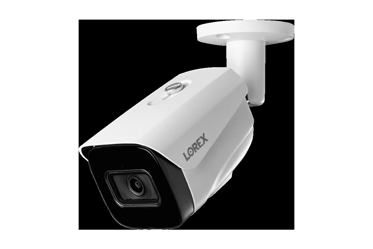 4K Fixed Smart IP White Bullet Security Camera - LNB9252B