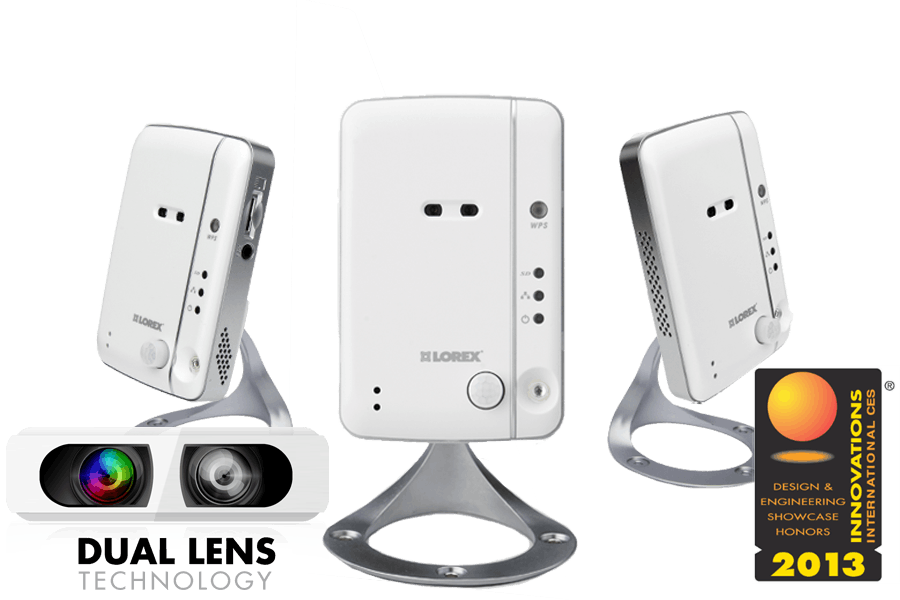 LIVE Ping Wireless Network Camera (3-Pack)