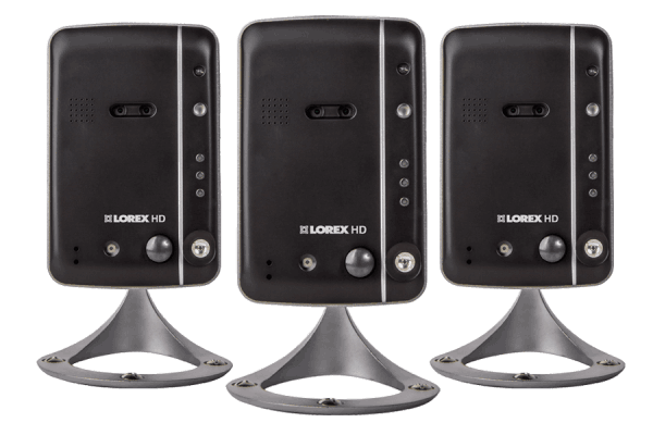 Wireless high definition IP cameras (3-pack)
