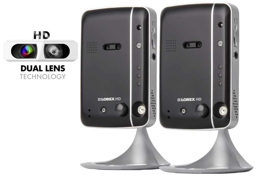 Wireless high definition IP camera (2-pack)