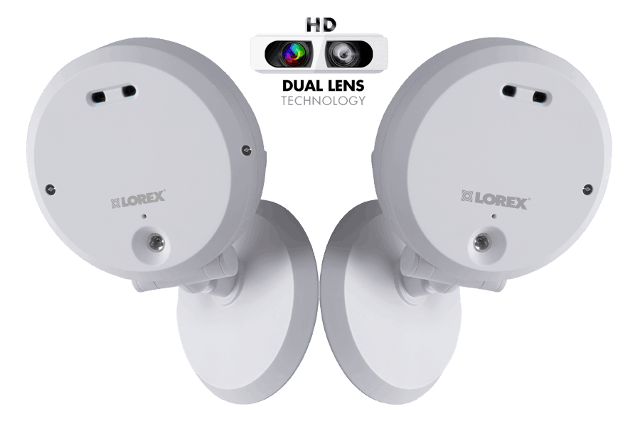 HD 720p Wireless IP Camera with Remote Viewing 2 Pack