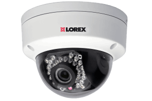 HD outdoor dome IP camera