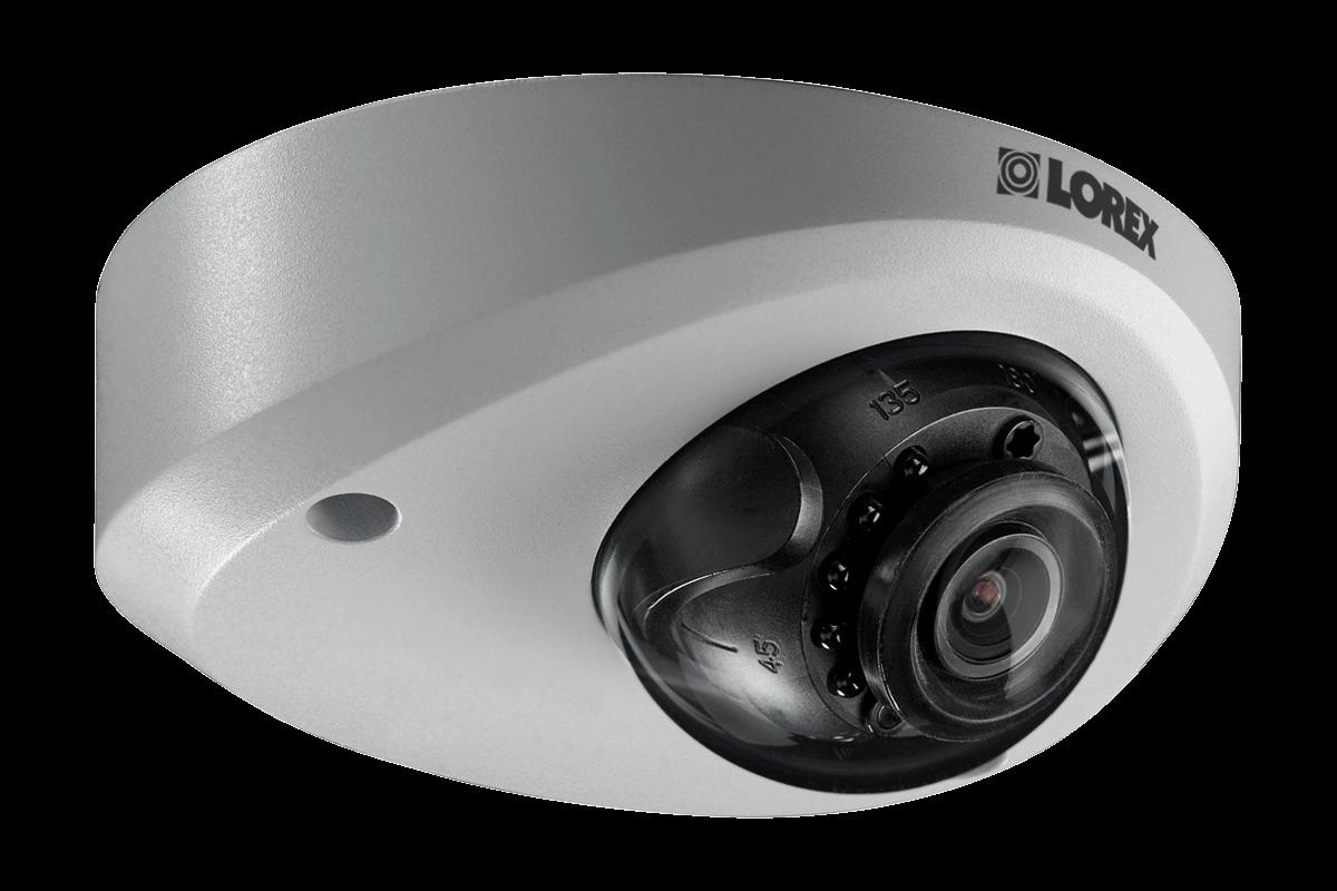 2K Mini Audio Metal Dome Camera - LND4751AB Series