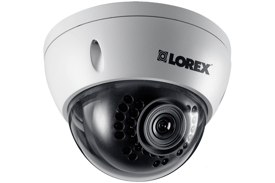 HD dome IP cameras weatherproof 1080p