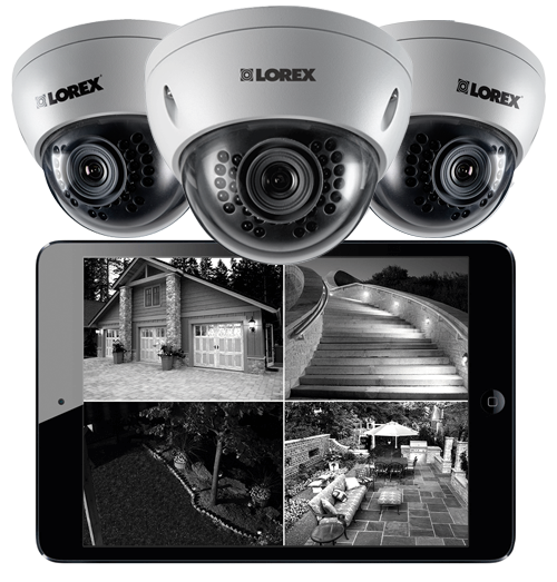 LND3152B dome security camera night vision infrared