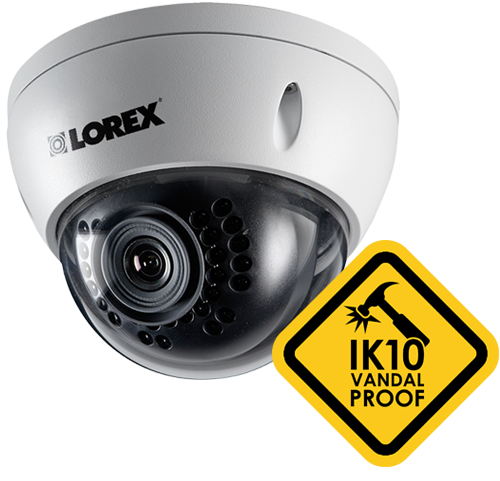 LND3152B Dome Security Camera Vandal-proof IK10 Vandal Resistance Rating