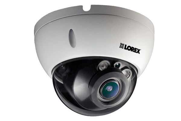 Weatherproof HD Motorized Lens IP Dome Security Camera