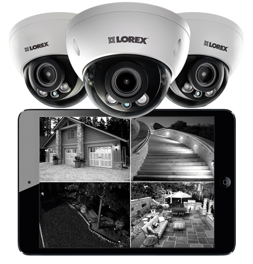 Great HD night vision dome IP cameras