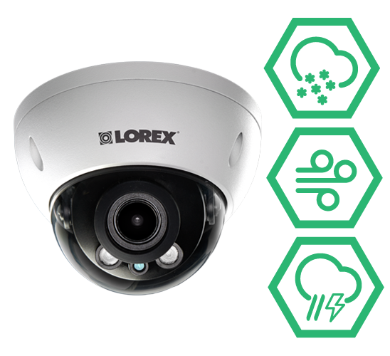 LNB3374 weatherproof outdoor IP cameras for year-round security coverage