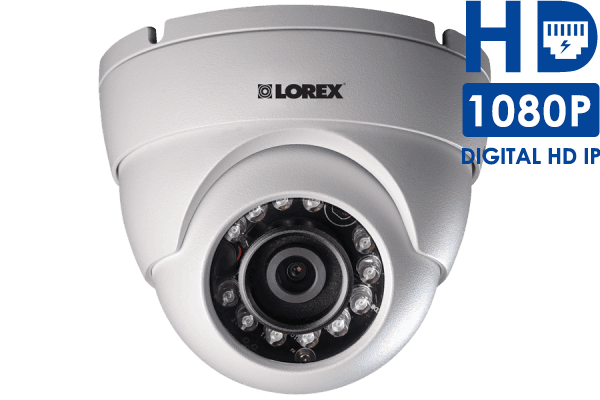 Weatherproof 1080p High Definition Night Vision Dome IP Security Camera