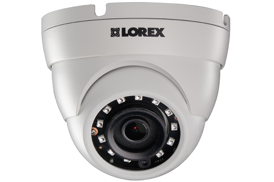 3 megapixel HD dome security camera with long range night vision