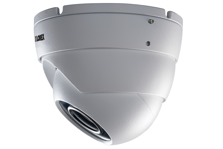 4MP High Definition Dome Security Camera with Color Night Vision & True HDR