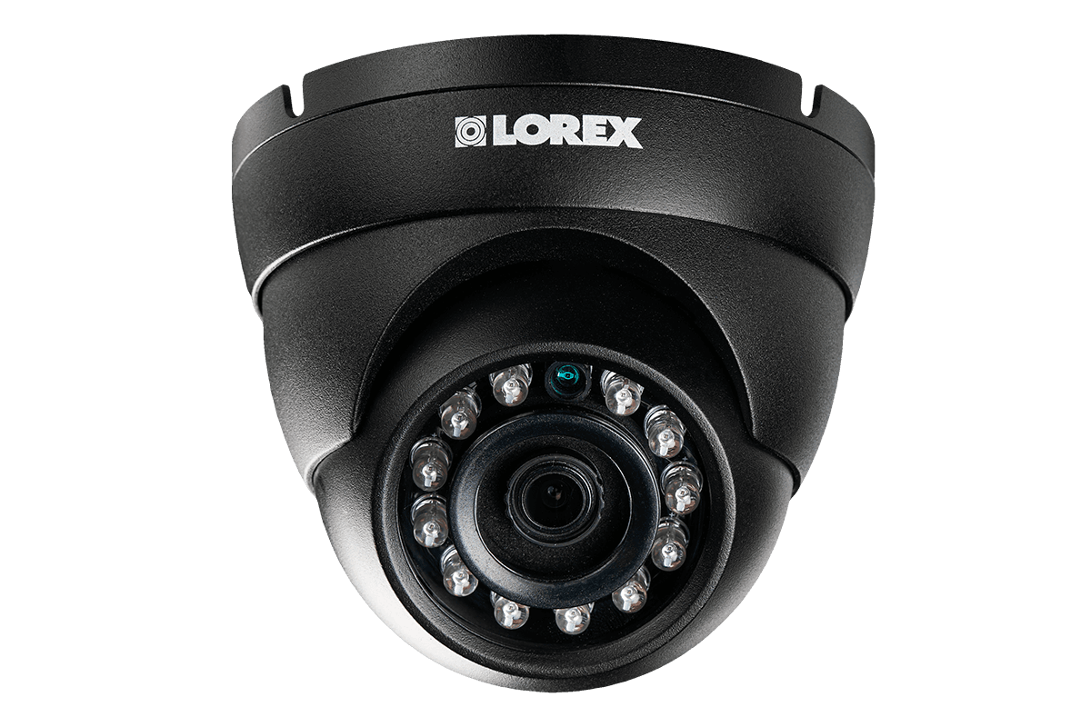 4MP HD IP Dome Camera with Color Night Vision, HEVC | Lorex
