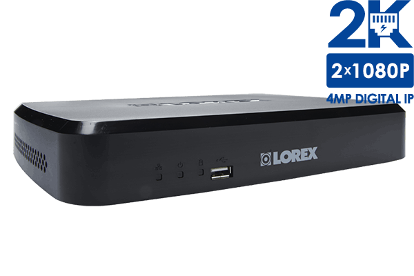 HD Security NVR with 1080p Recording and FLIR Cloud Connectivity