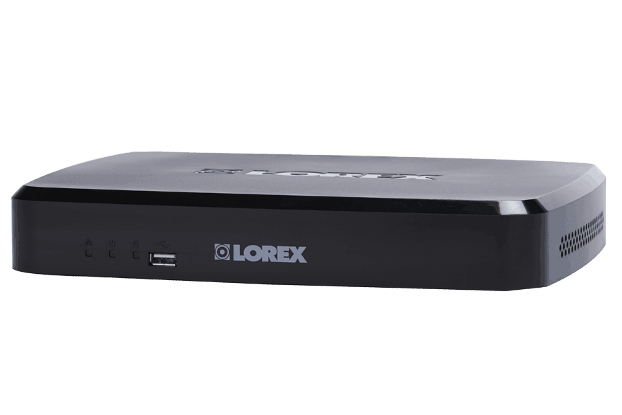 4 Channel Series HD Security NVR with 1080p Recording and FLIR Cloud