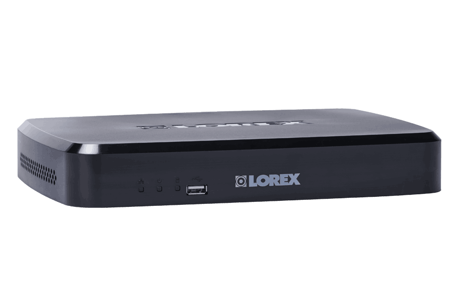 LNR100 Series 8-Channel Security NVR with Weatherproof HD IP Cameras
