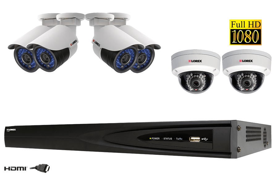Full Hd Network Security Camera System Lorex