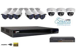 LNR300 Series 16-Channel Security NVR with HD IP Cameras