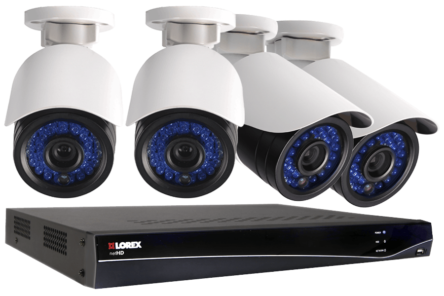 LNR300 Series 8-Channel Security NVR with HD IP Cameras