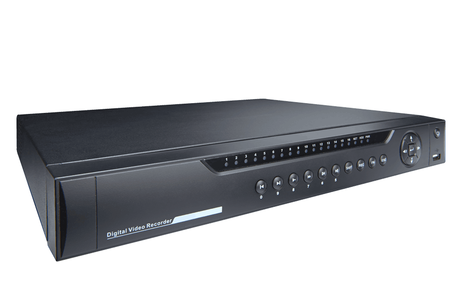8-Channel HD NVR with Weatherproof HD IP Cameras