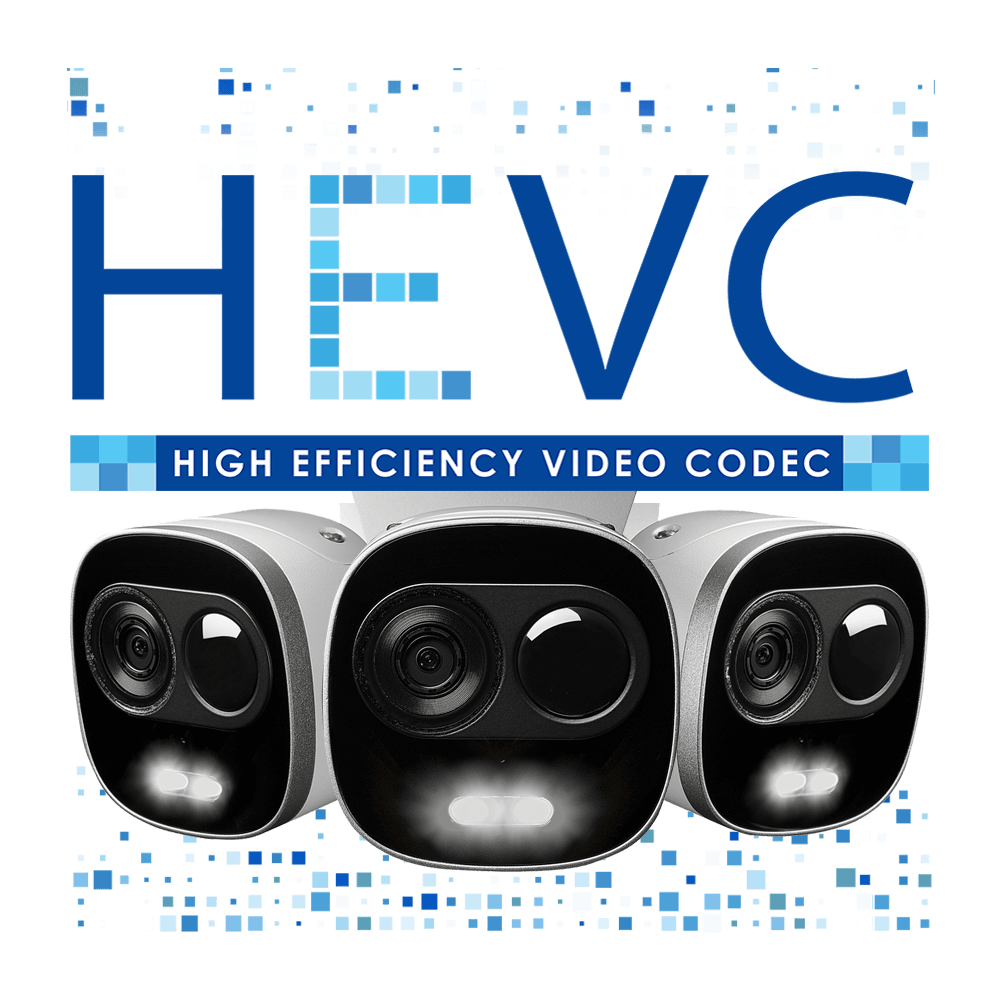 HEVC wifi camera